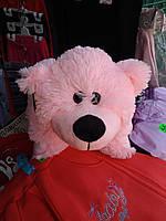 Подушка мягкая игрушка на липучке Мишка  медведь трансформер 2 в 1 ,размеры 43*43, фото 7