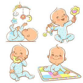 Игрушки для малышей, развитие, развлечения