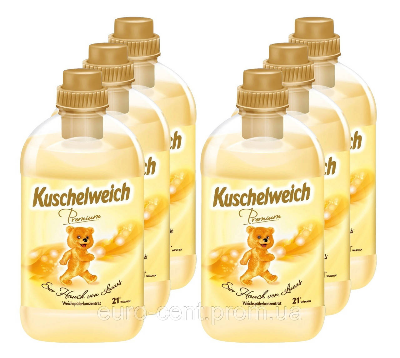 Кондиционер-ополаскиватель для белья Kuschelweich (Мишка) Premium Легкая роскошь