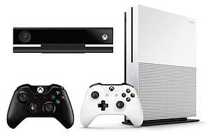 Приставка XBOX ONE S 1TB + 2xPAD + KINECT + SPORTS + FIFA 17 + ZOO