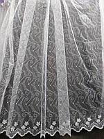 Белоснежный тюль Турция, фото 1