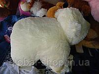Подушка мягкая игрушка на липучке Мишка  медведь трансформер 2 в 1 ,размеры 43*43, фото 9