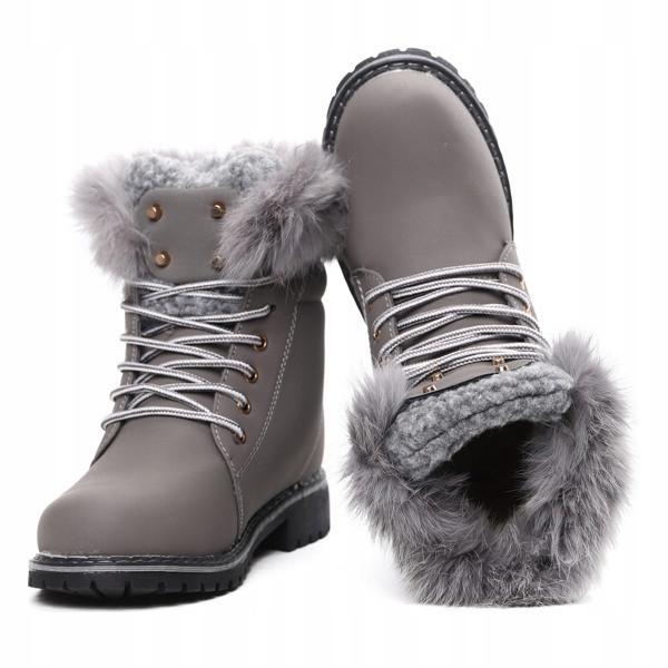 f8ad9937 Зимние, теплые женские ботинки на утолщенной подошве размеры 40 ...