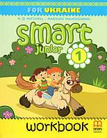Робочий зошит Smart Junior for Ukraine. Англійська мова 1 клас. Мітчелл Г.К.