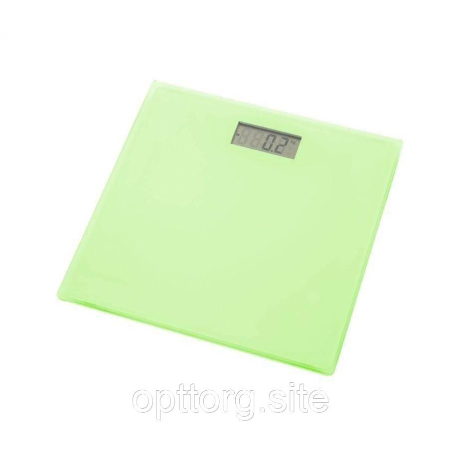 Весы напольные зелёные Grunhelm BES-1SG