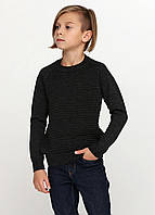 Свитер для мальчика темно-серый, фото 1