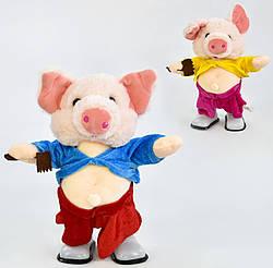 Музыкальная игрушка Свинка 30 см, код 30479