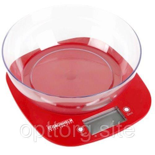 Весы кухонные с чашей Grunhelm KES-1PR
