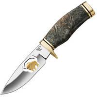 Нож Buck Burlwood Brass & Gold Vanguard (лимитированная серия)