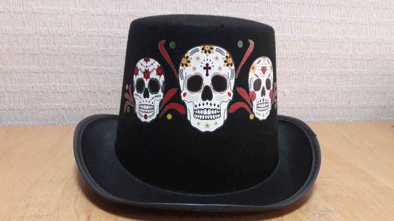 Шляпа Череп (костюмы на Хэллоуин)