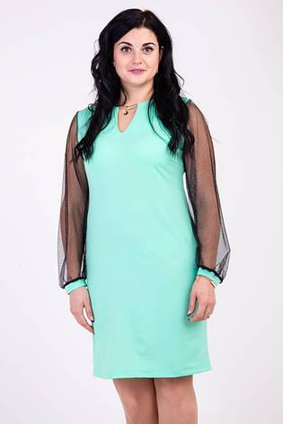 Модное платье украшенное кулоном, фото 2