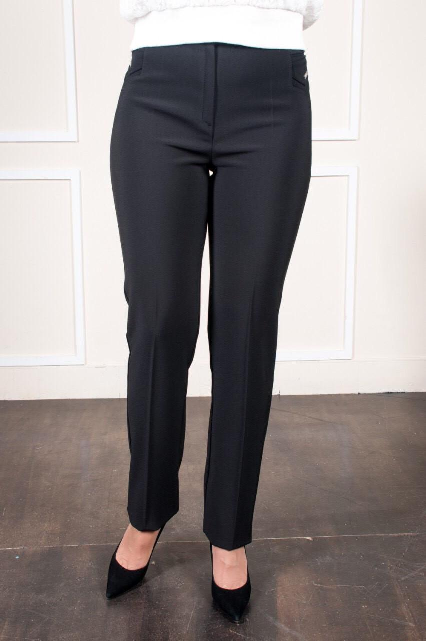 Черные женские брюки в классическом стиле