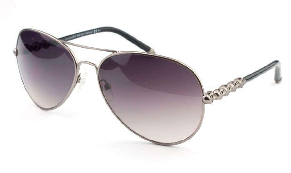Солнцезащитные очки Alexander Mqueen AMQ4220-6LBLF