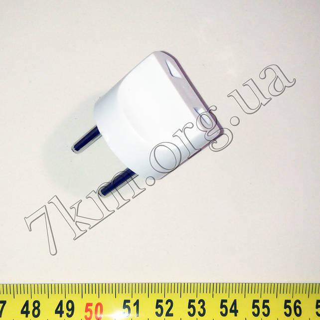 Переходник  электрический белый Т124 Оптом.