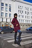 Кашемировое женское пальто оверсайз 60PA129, фото 1