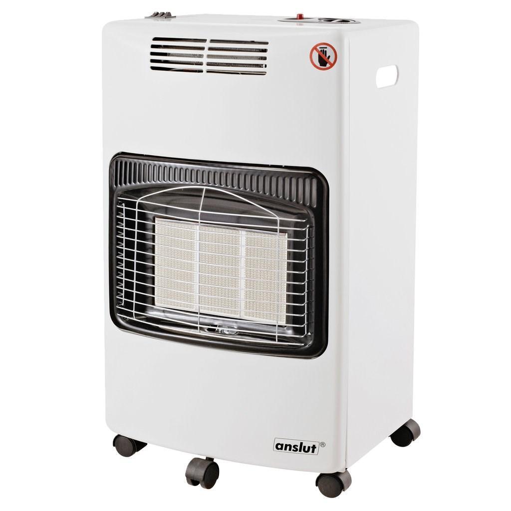 Обогреватель газовый + электро Anslut 4 кВт + 2 кВт