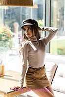 Замшевая женскяа короткая юбка в расцветках 2JU133, фото 1
