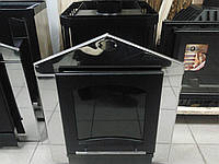 Печь для бани каменка ПРУТОК (панорама) до 18м\куб