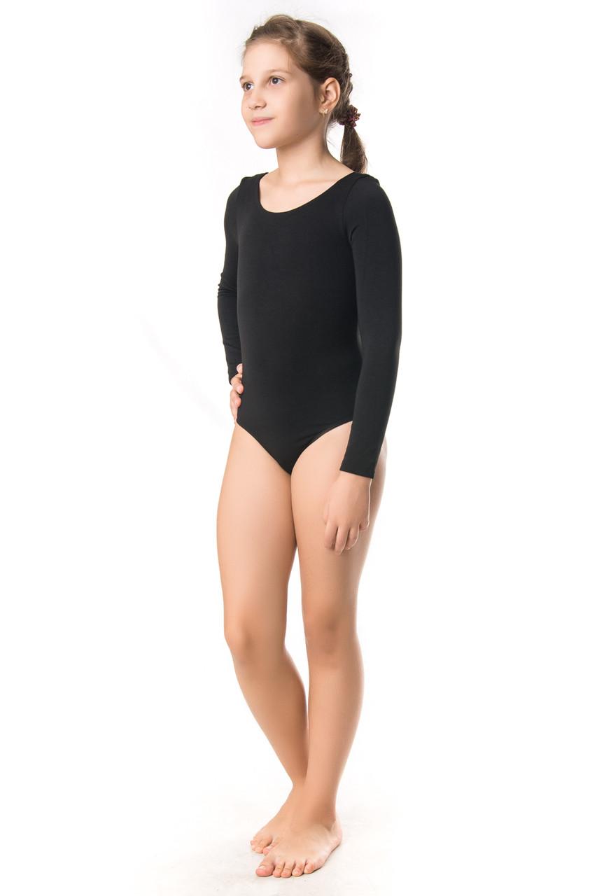 Трикотажный гимнастический купальник