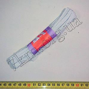 Резинка бельевая белая узкая 10м Т125,1