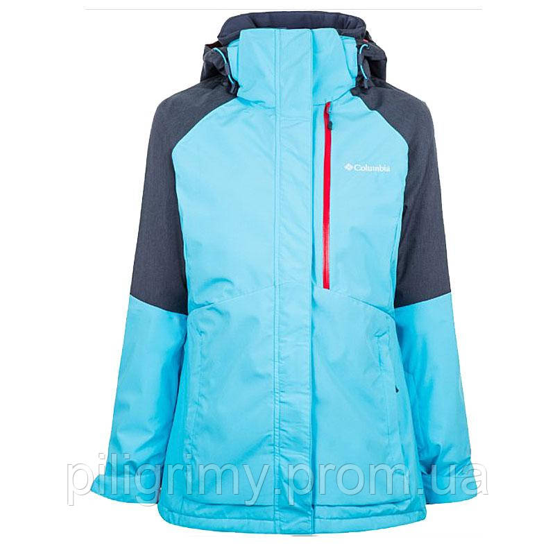 960b5516 Куртка Columbia женская WILDSIDE™ JACKET сине-голубая 1799271-404 -  интернет-магазин