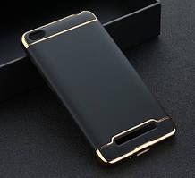 Чехол с золотыми вставками для Xiaomi Redmi 4A (2 Цвета)