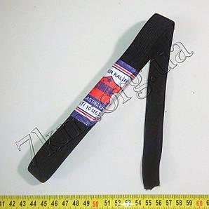 Резинка бельевая черная широкая 10м Т126