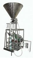 Упаковочный полуавтомат с весовым дозатором