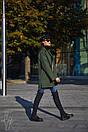 Кашемировое женское Пальто оверсайз 60pt129, фото 3