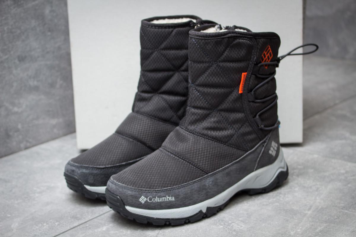 Зимние ботинки Columbia Keep warm, серые (30281),  [  38 (последняя пара)  ]