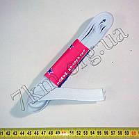 Резинка бельевая белая широкая 10м Т126,1