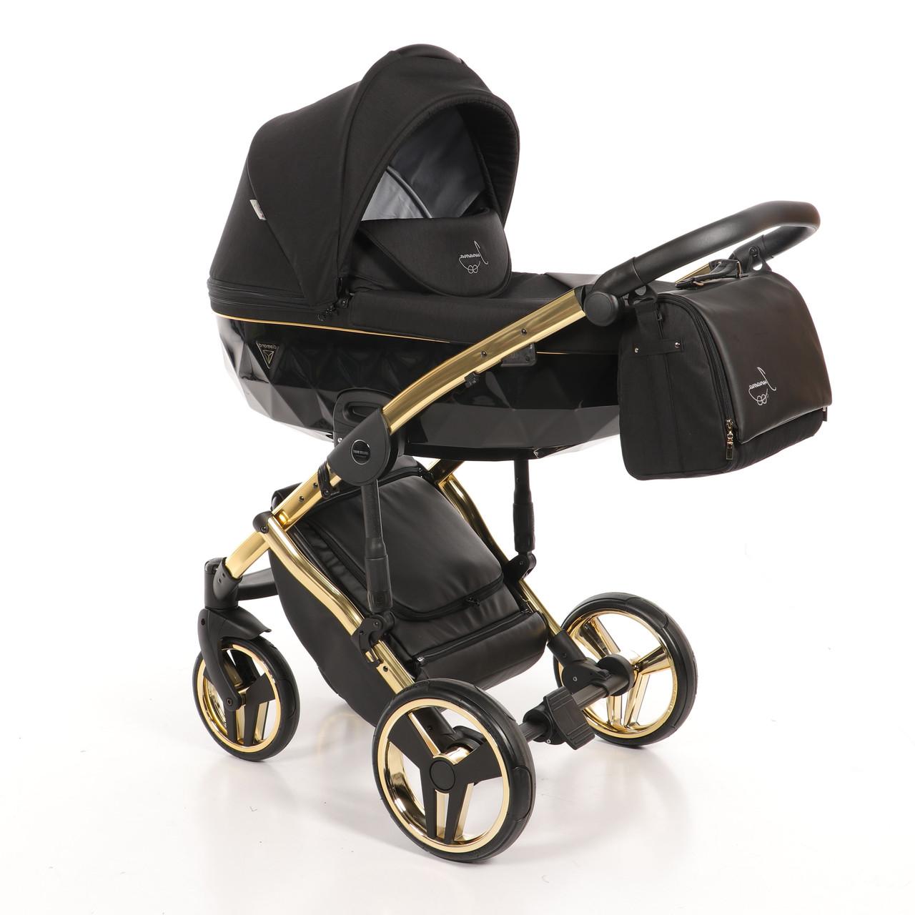 Детская универсальная коляска 2 в 1 Junama Diamond S-Line