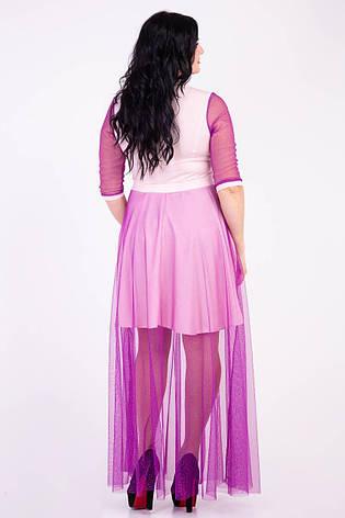 Длинное красивое праздничное платье, фото 2