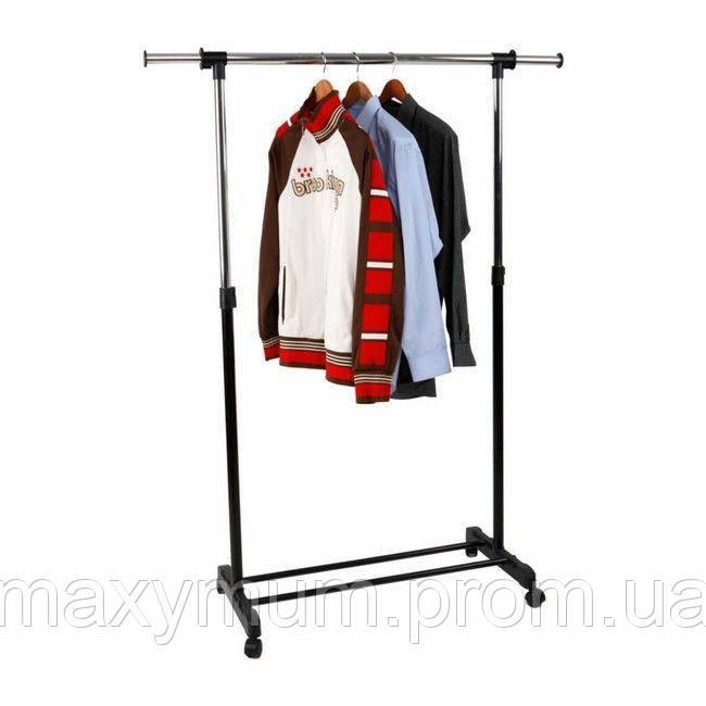 Вешалка для одежды напольная на колесиках Otto