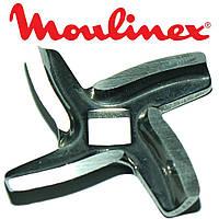 Нож для мясорубки Moulinex (оригинал) с квадратным отверстием