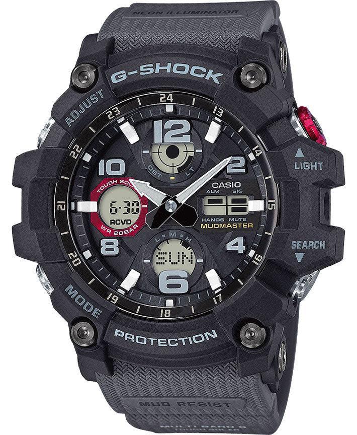 Часы Casio G-Shock GWG-100-1A8 Mudmaster