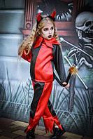 Карнавальный костюм черт,вампир,Хэлоуин,вампирша,чертенок, фото 1