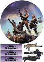 """Картинка вафельная  """"Fortnite"""" 1, фото 1"""