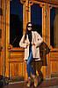 Женское пальто с удлиненной спинкой в расцветках. ВЛ-7-1018 (П-24), фото 7