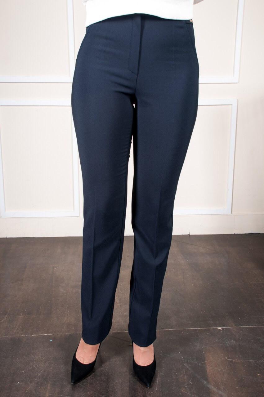 Утепленные брюки Шарлота синего цвета