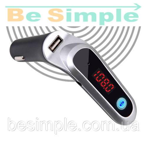 FM модулятор Car G6 Bluetooth трансмиттер
