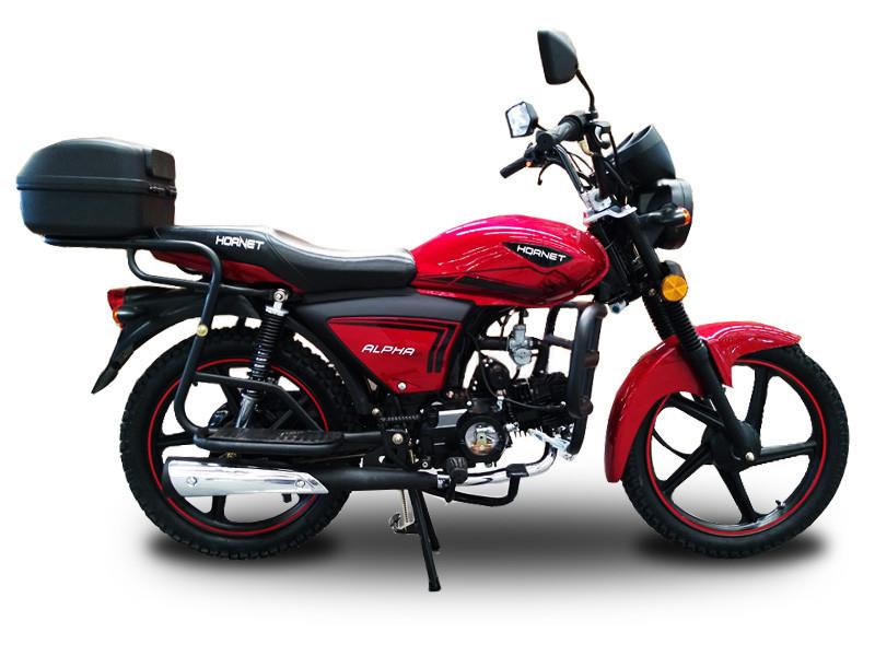 Мотоцикл HORNET Alpha (LUX) 125куб.см, красный