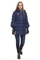 Женская куртка зимняя синяя 5219 Куртка женская Tiger Force