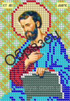 Схема для вышивки бисером «Святой Марк»