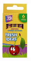 """Мел цветной восковой """"Fresh Ideas"""" 6 штук Cool for school"""