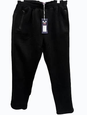 Брюки теплые Rowinger прямые зимние мужские спортивные штаны велюр, фото 2