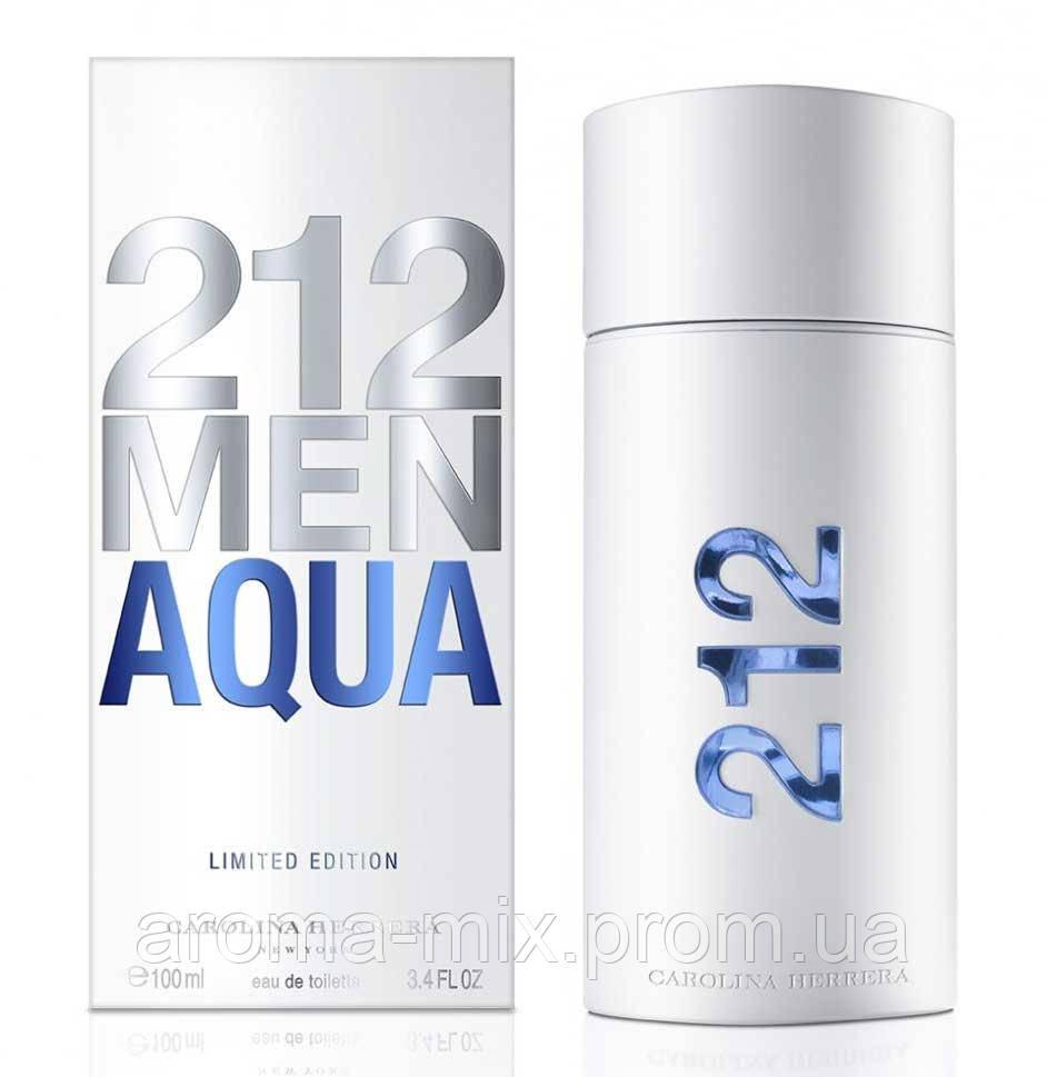 Carolina Herrera 212 Men Aqua - мужская туалетная вода
