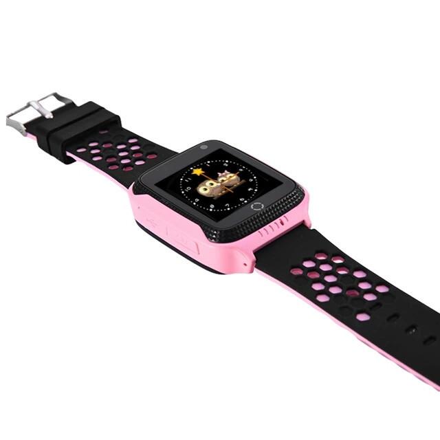Детские GPS часы Q900s Smart Baby Watch Розовый
