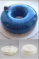 Форма  для муссовых тортов заливки евро десертов бублик