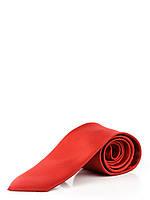 Узкий красный галстук